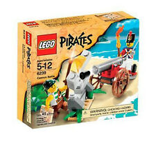 6239 CANNON BATTLE pirates LEGO legos set NISB retired pirate
