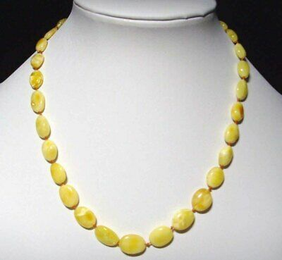 Genuine 100/% natural Baltic amber necklace knotted certified amber necklace