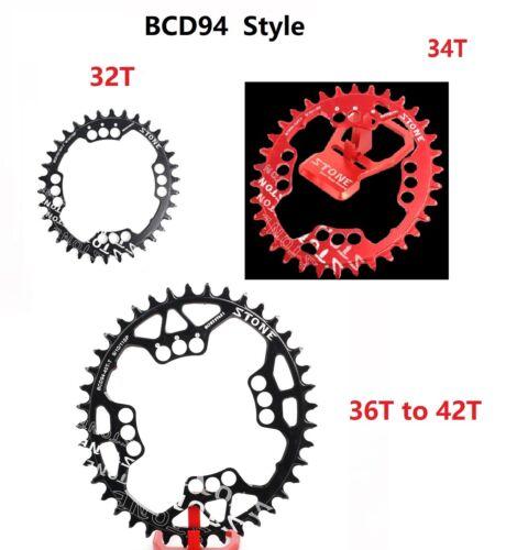 Oval Chainring BCD94  Narrow Wide NW 1x System for Sram X1 NX GX94 FSA