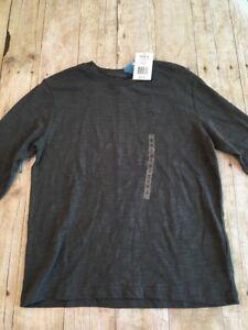 fe47198e Image is loading Champion-Boys-Long-Sleeve-Shirt-Size-Small-Charcoal-