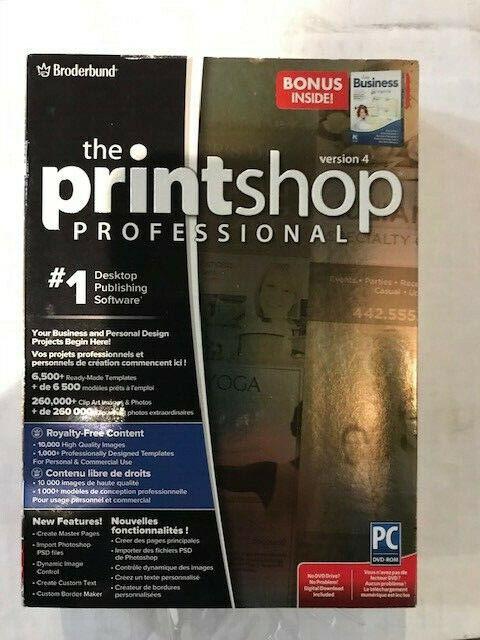 Print Shop Professional 4.0 PC NEW!
