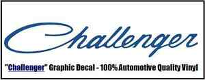 dodge challenger 1 x 6 graphic vinyl window decal script font free shipping ebay details about dodge challenger 1 x 6 graphic vinyl window decal script font free shipping