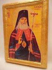 Icon Saint Luke of Crimea Byzantine Greek Orthodox Religious Icon Art on  Wood