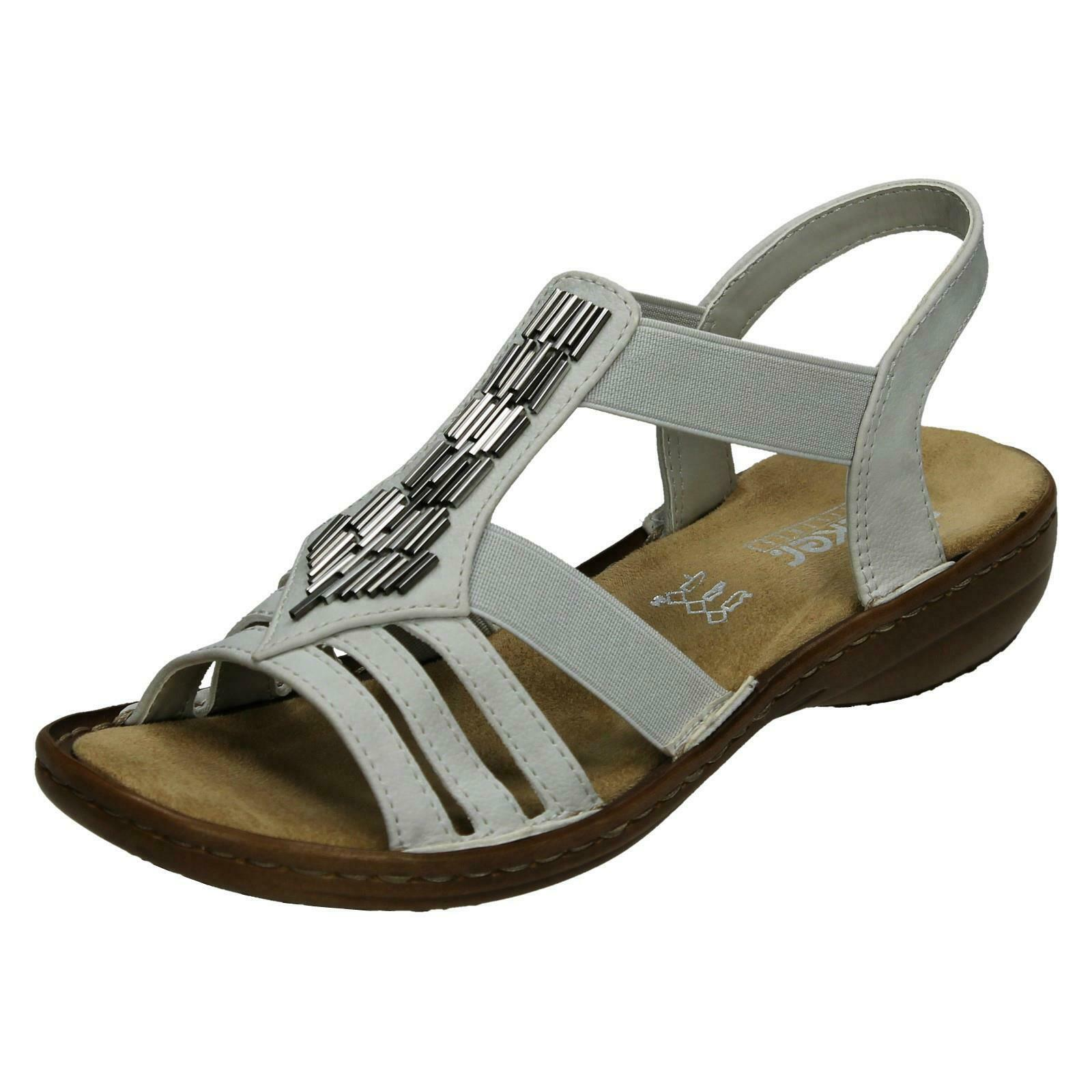 Ladies Rieker Casual Slingback Sandals 60800