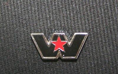 Western Star emblem hat pin lapel decal plaque diesel badge truck base ball cap
