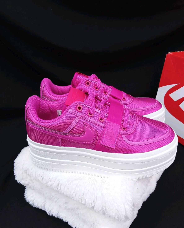 12 Nike vandalismo 2K 2K 2K doble apilamiento Informal Plataforma Magenta rosadodo blancoo AO2868-500  barato