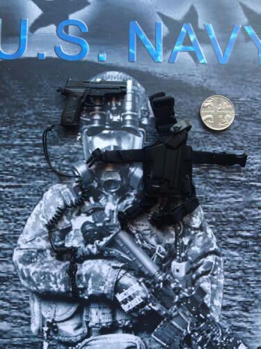 MINI volte US Navy Ultima NAVE TOM Chandler Pistola /& Fondina Loose SCALA 1//6th