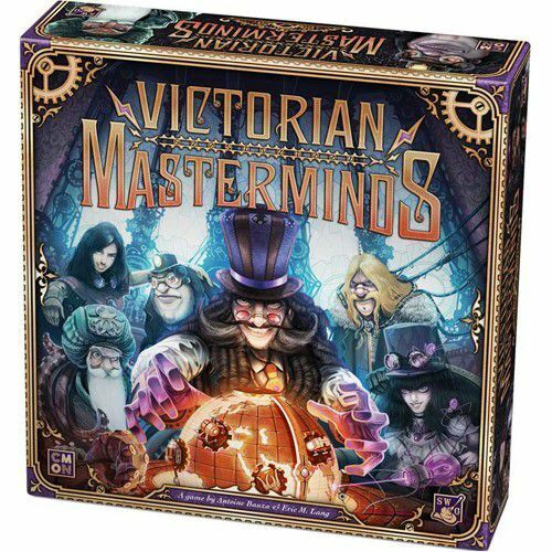 MW  VICTORIAN MASTERMINDS BOARD GAME -ENGLISH-    2019 COOL MINI OR NOT  achats de mode en ligne