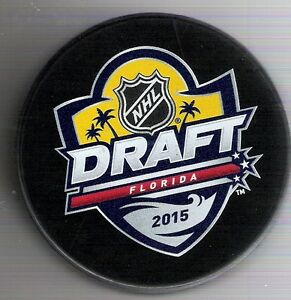 2016 National Hockey League Draft Day Puck Ebay