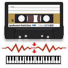 Ensoniq ESQ-1 Data Cassette Tape - Contains Patches/Sounds