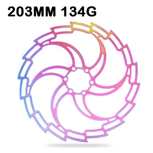 IIIPRO CNC Bike Disc Brake Floating Rotor 160 180 203mm Bicycle MTB Bike 6 Bolts