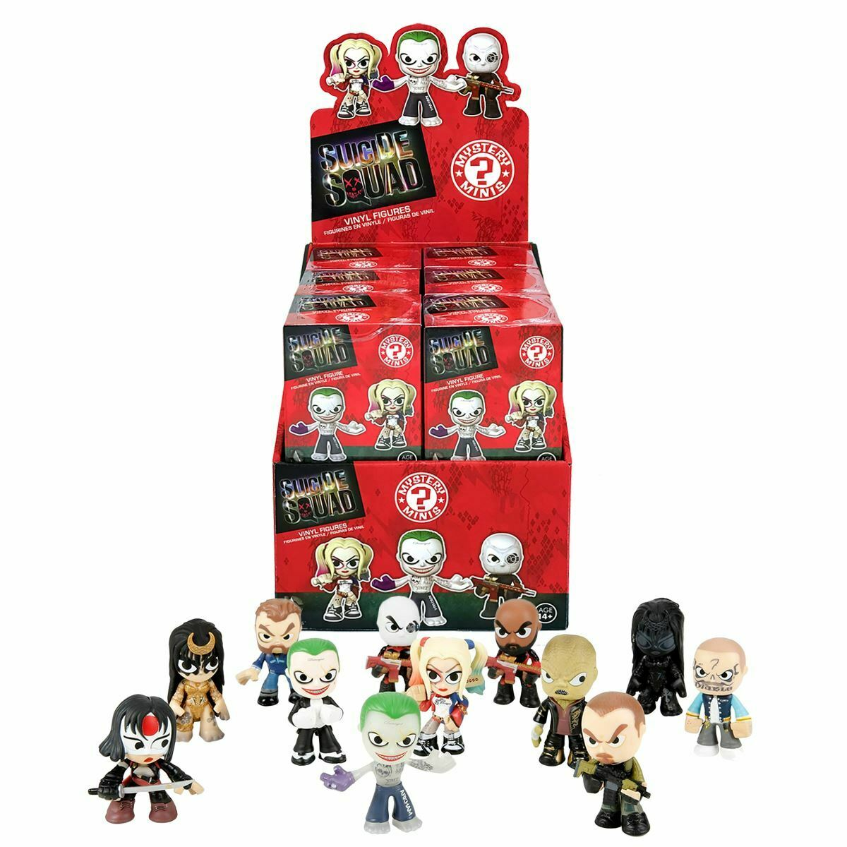 New 1 3 5 10 Or 12 Suicide Squad Mystery Minis Blind Box Vinyl Figures Official