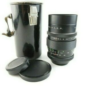 M42-Pentacon-2-8-135-15-Lamellen-Version-Objektiv-lens