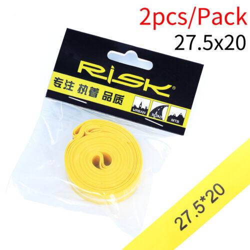 2PCS Bicycle Tire Liner Anti-Puncture Tape Bike Inner Tube Pad Rim Liner
