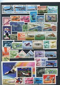 Kleine-Sammlung-Flugzeugmotive-meist-o-38495
