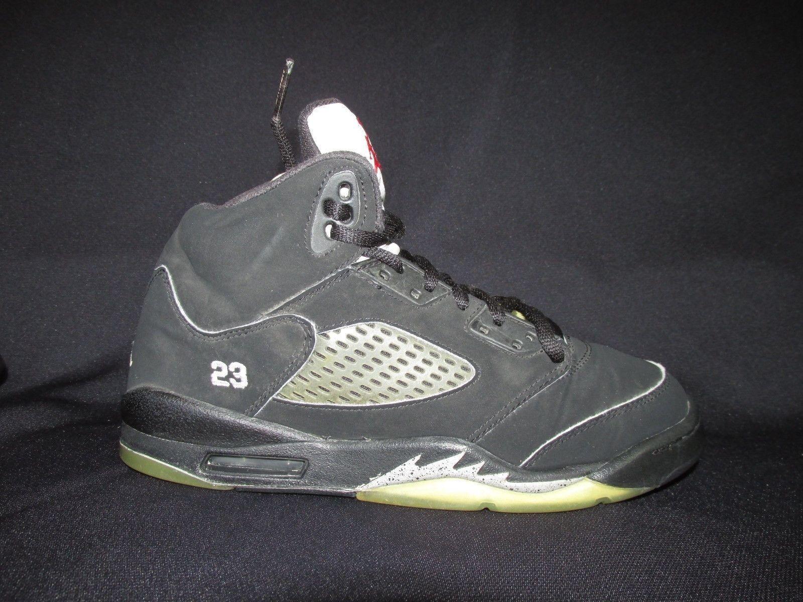 Nike air jordan v 5 134092 2006 retro (gs) 134092 5 004 schwarz metallic silber jugend 5,5 c5e445