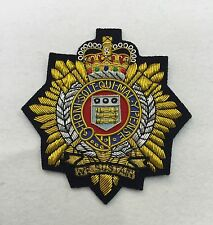 RLC Blazer Badge, Royal Logistics Corp, Army, Military, Embroidered, Armed Force