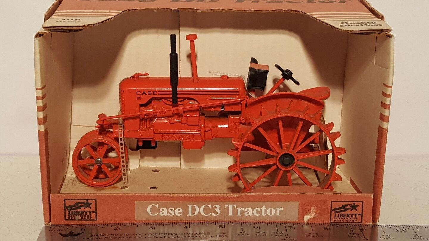 Case DC3 1 16 DIECAST METAL Farm tracteur REPLICA DE COLLECTION par specCast