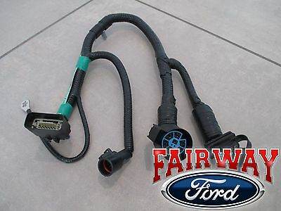 05 thru 07 f-150 oem genuine ford 7-pin trailer tow wiring harness connector  new | ebay  ebay