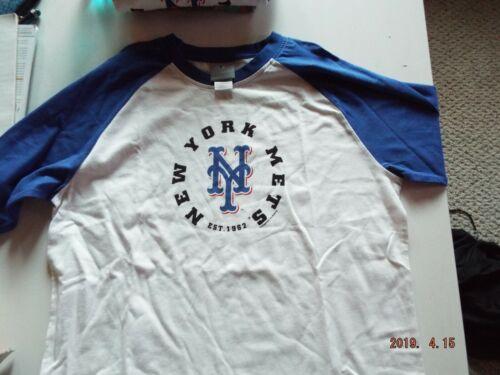 New York Mets Ladies White Shirt