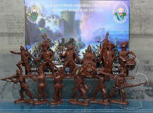 Inzhener Basevich Plastic Toy Soldier Russo-Turkish War Turkish № 26 1//32 54 mm