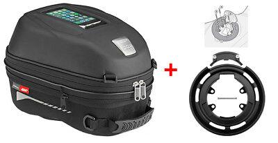 Givi Tanklock Combo Kit ST603 15 Liter Tank Bag /& BF04 Tank Mount