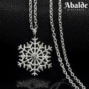 Collar-Colgante-Mujer-Copo-de-Nieve-Color-Plata-Frozen-Regalo-Dia-de-la-Madre