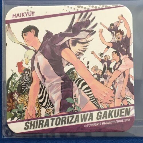 HAIKYUU ART Coaster Hinata Kageyama Oikawa Iwaizumi Kenma Kuroo Bokuto Akaashi