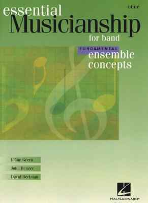 Initiative Hal Leonard 00960112 Essential Musicianship For Band Musical Instruments & Gear Oboe Instruction Books, Cds & Video
