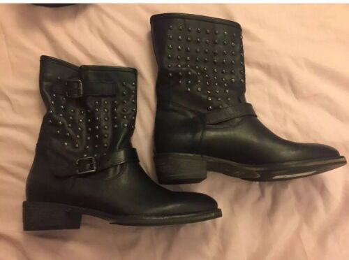 £120 Rrp Leather 5 Size Boots Dune wZqHav