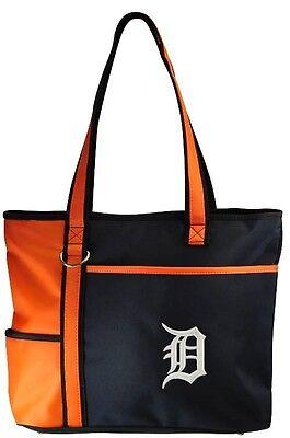Gekonntes Stricken Und Elegantes Design BerüHmt Zu Sein Und Ausland FüR Exquisite Verarbeitung Clever Neu Mlb Carryall Einkaufstasche Geldbörse Lizenziert Detroit Tigers Im In