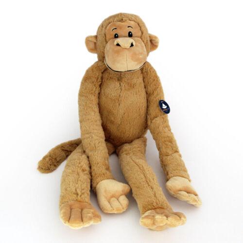 Stofftier Hängeaffe beige, Affe, Plüschtier, Schlenkertier, Plüsch (l ca. 69 cm)