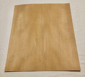 "Ash Wood Veneer 15.5 Sq Ft 40"" X 8"" 7 Sheets"