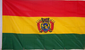 BOLIVIA BOLIVIAN FLAG NEW 2X3ft better quality USA seller