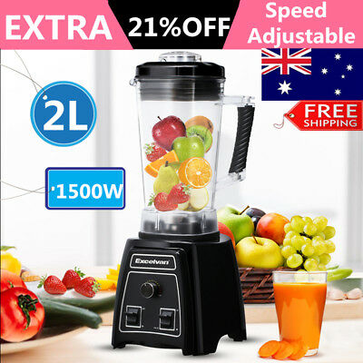 2L Electric Blender Mixer Smoothie Maker Juicer  Ice Crus Kitchen Food Processor