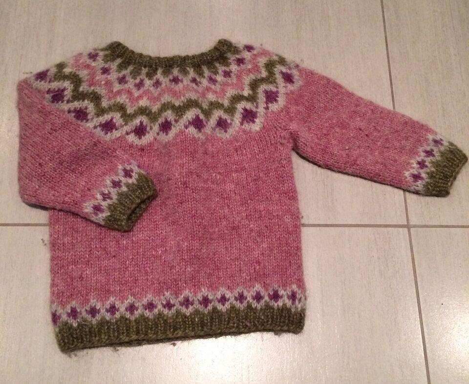 Sweater, Strik, Hjemmestrik