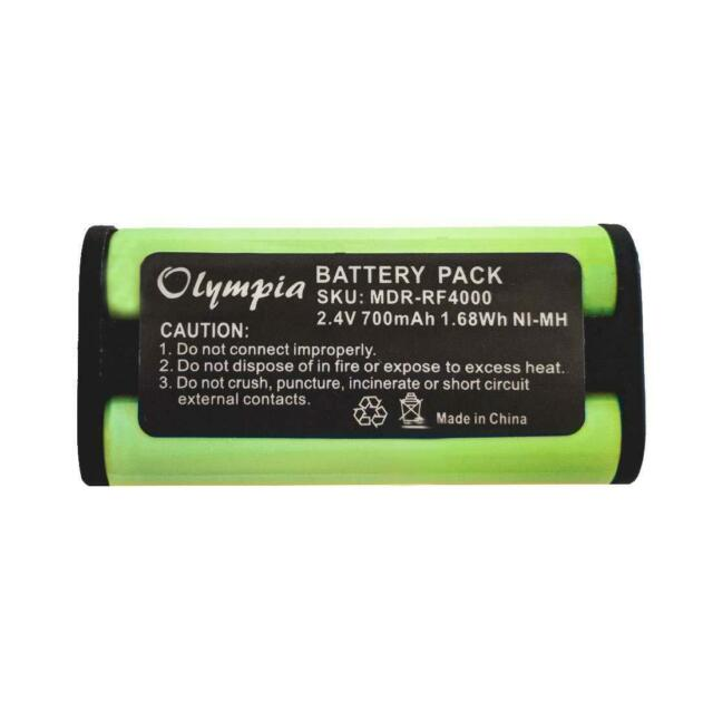 700mAh Battery for Sony Wireless Headphone MDR-DS3000 MDR-IF240RK,MDR-IF3000