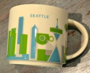 Details About 2013 Starbucks Coffee Mug You Are Here Collection Seattle