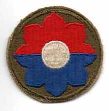 9th Division US Army Subdued Patch