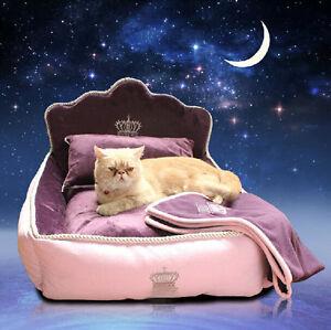 Luxury-Large-Dog-Bed-Cat-Mat-Sofa-Dog-House-Sleep-Cushion-Kennel-Pillow-Blanket