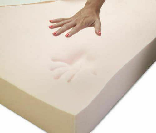 "100/% MEMORY FOAM MATTRESS TOPPER AVAILABLE IN DOUBLE AND 2/"" DEEP DEPTH"