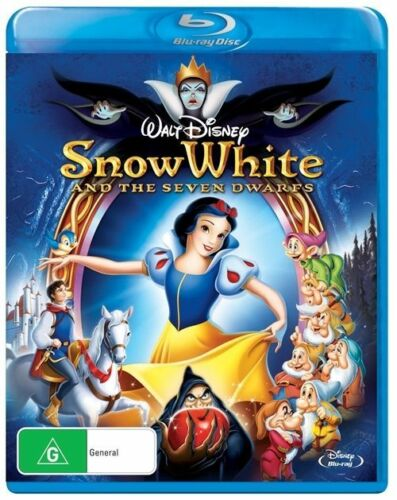1 of 1 - Snow White and the Seven Dwarfs NEW B Region Blu Ray