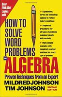 How To Solve Word Problems In Algebra, (proven Techniques From An Expert) By Mil on sale