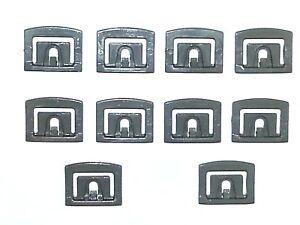 79-96-Ford-Front-Windshield-Rear-Window-Moulding-Molding-Trim-Clip-Clips-10pc-TT