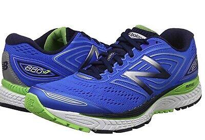 New Balance Mens 880V7 Running Shoes Size 9 MB80BW7 Blue