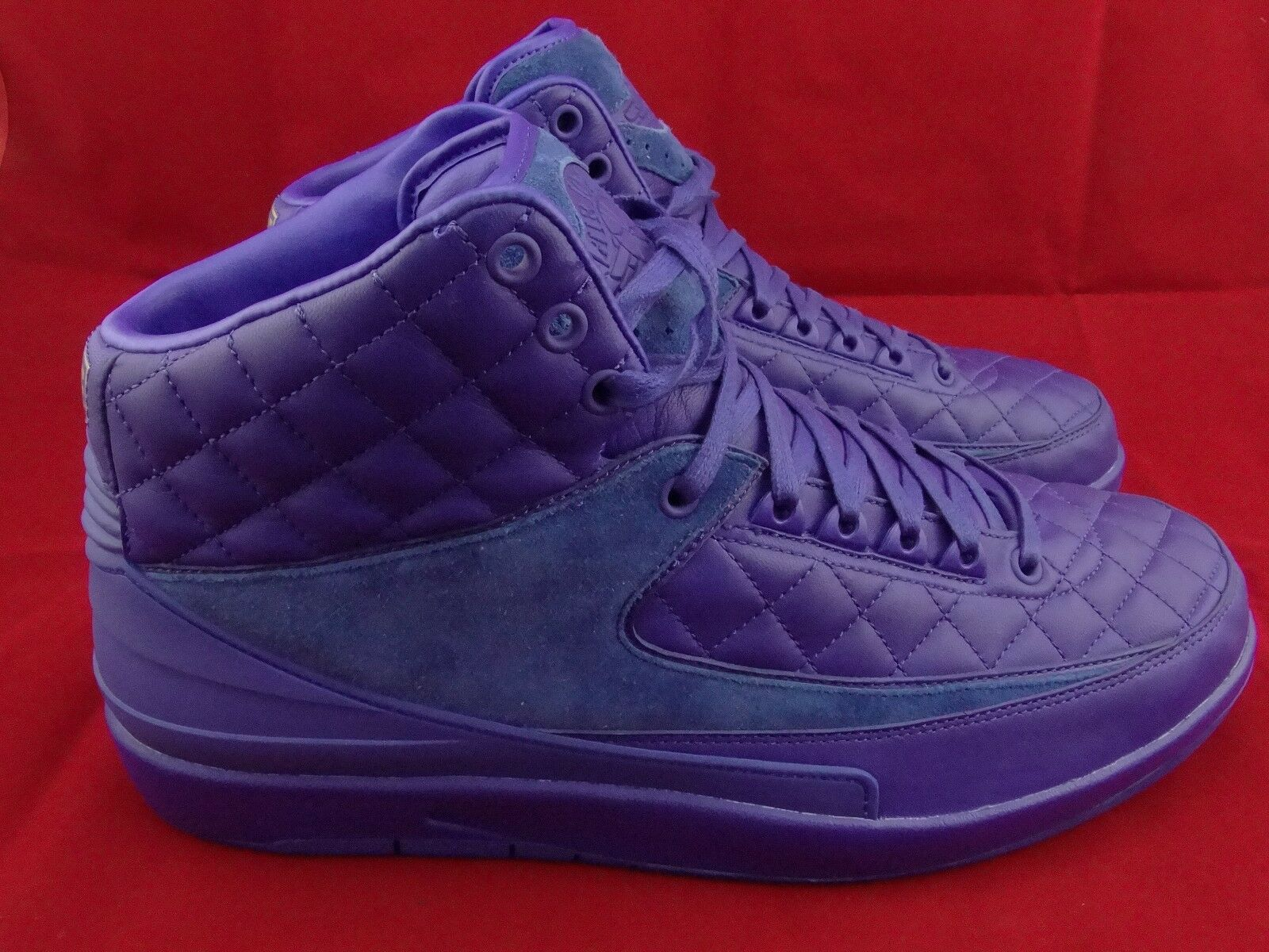 Sample 2015 Nike Air Jordan 2 II Retro Just Don SZ 13  Blue 717170-405 bred nmd