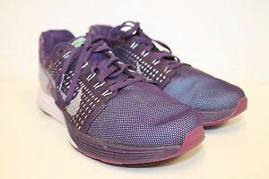6c8edc20fe0 Women s Nike Lunarglide 7 Flash Running Shoes 803567 500 Purple Gray ...