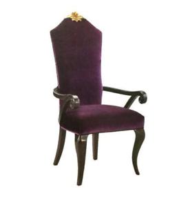 Détails sur Chaise Thron Fauteuil Set Salle à Manger Design Bois Ancien  Style Baroque Rokoko
