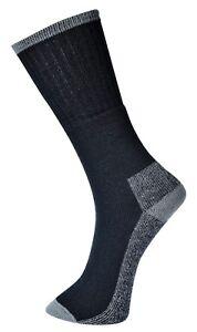 avvio calze sicurezza nere Portwest calde lavoro da invernali calze di stivali da da lotto lavoro Calzini Xq0atx