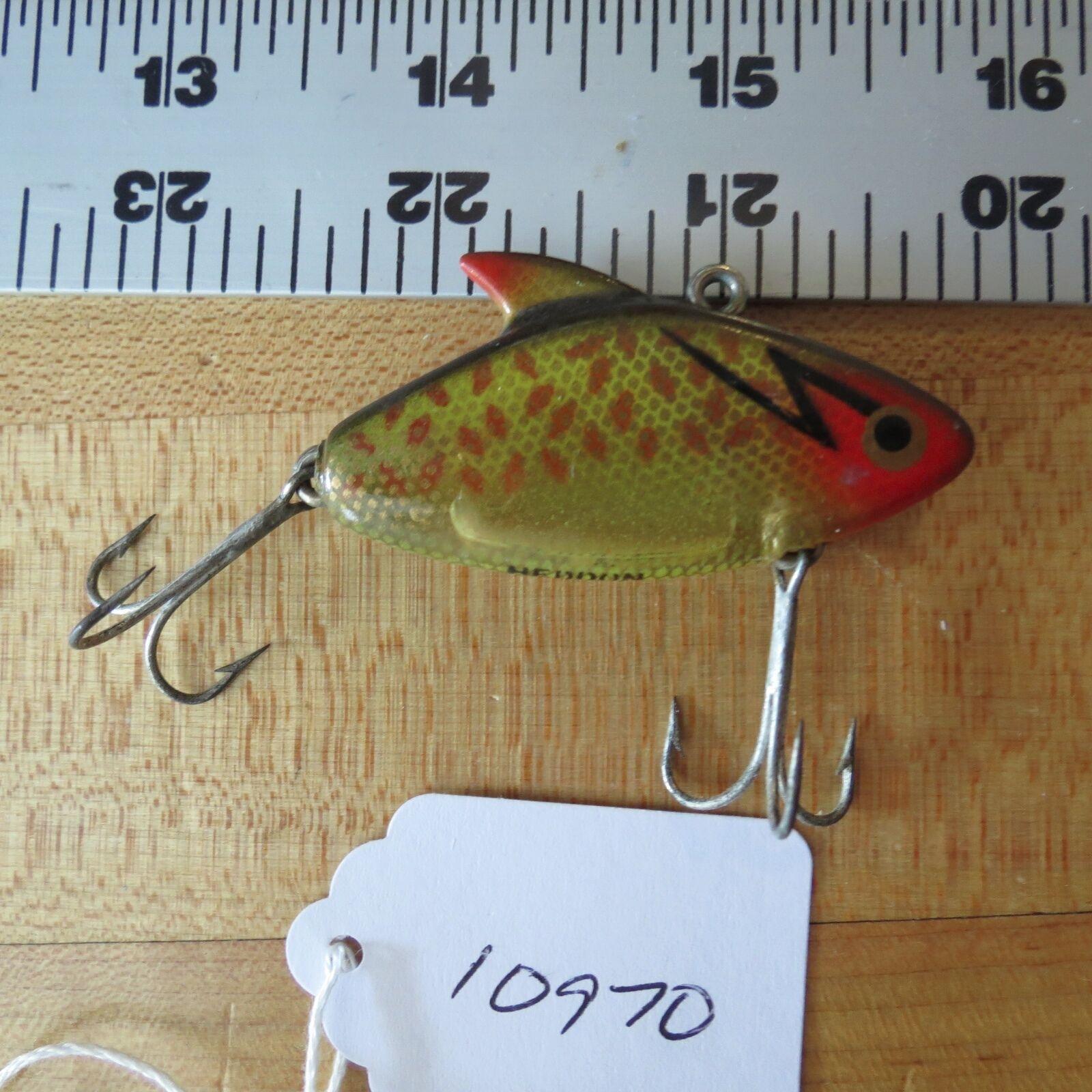 Vintage Heddon Supe Sonic fishing lure (lot)